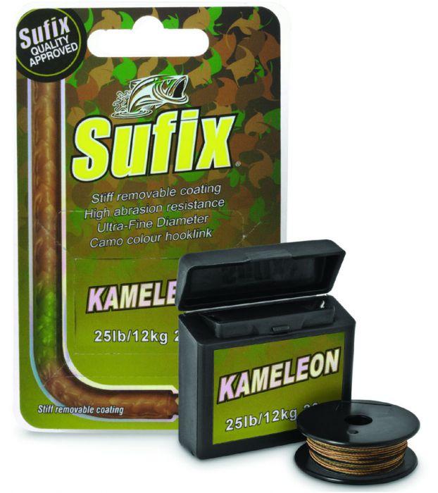 Леска плетеная Sufix Kameleon 15м 21кг