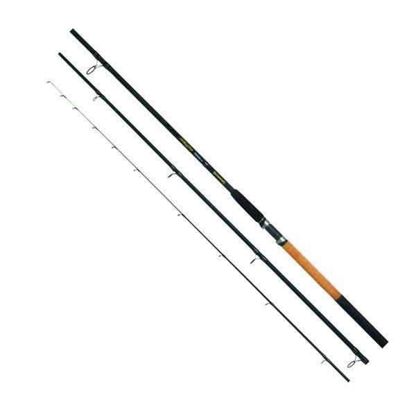 Удилище фидерное Browning Black Magic Feeder MH 3.90м 120gr 1798390 (68591)Удилища фидерные<br>Бюджетное спиннинговое удилище. Сочетает в себе небольшой вес и высокую чувствительность к поклевкам.<br>