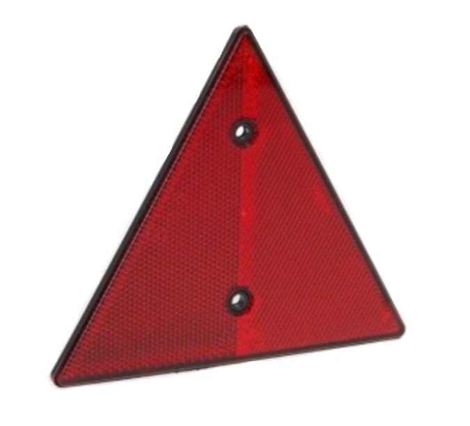Отражатель AL-KO треуг. Красный DOB-031Аксессуары для прицепов<br>Светоотражатель треугольный с двумя отверстиями под винты.<br>