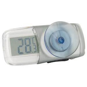 Термометр на присоске JJ-Connect Home Alarm ThermometerТермометры, погодные станции<br>Прозрачный дисплей термометра JJ-Connect Home Alarm Thermometer позволяет быстро узнать температуру окружающего воздуха. Удобное крепление на присоске поможет быстро закрепить прибор за окном.<br>