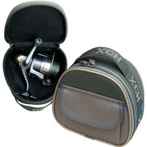 Чехол ХСН для катушки размер №4Чехлы<br>Полужесткий чехол для спиннинговой катушки. Одевается на катушку на спиннинге и превосходно защищает от зацепов лески, ударов и царапин.<br>