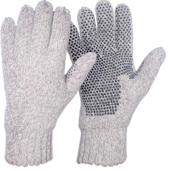 Перчатки-варежки NovaTour вязаные Badger меланж Oatmeal