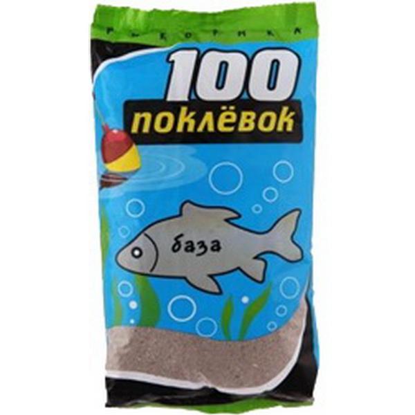 Прикормка 100 Поклевок Рыболов База 900 гр.