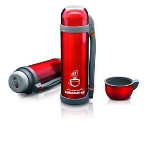 Термос Adrenalin Hot Drink Handle (1.2 л)Термосы<br>Классический термос сохранит температуру напитка. Отличается удобной резиновой ручкой для переноски.<br>Емкость, мл: 1200.<br>