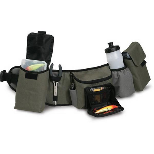 Пояс Rapala Hip Pack 46005-1Сумки и рюкзаки<br>Рыболовный пояс, оснащенный карманами для необходимых рыбацких принадлежностей. По длине можно отрегулировать пряжкой.<br>