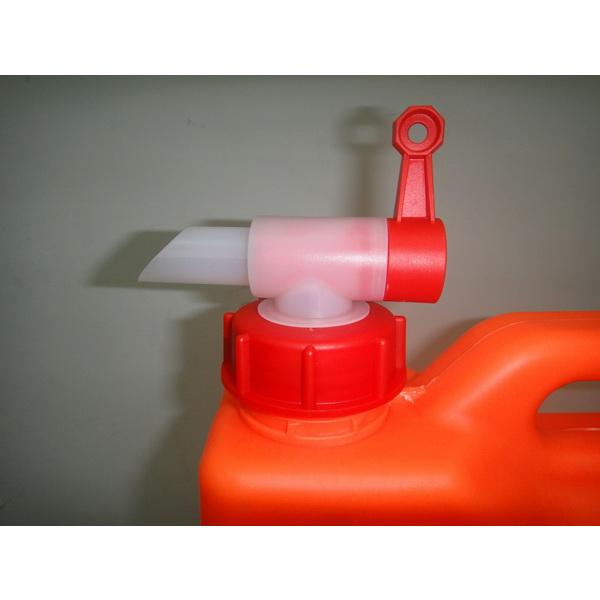 Кран-крышка Экстрим на каниструКанистры<br>Кран – крышка представляет собой комплектующее устройство к канистре. Используется для дозированной подачи жидкости.<br>