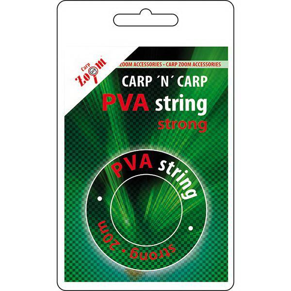 PVA тесьма Carp Zoom String Strong 20mОбжимные трубочки<br>Тесьма является одним из самых популярных материалов, применяемых в карповой ловле. Наиболее часто его использует в качестве завязки для ПВА мешков.<br>