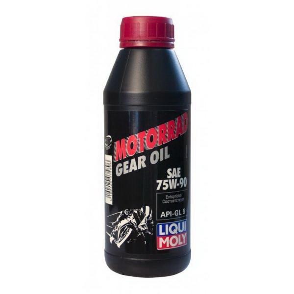 Масло Liquimoly трансмиссионное мотоциклетное синт. (0.5л) Motorrad Gear Oil 75W-90Масла и ГСМ<br>Масло трансмиссионное мотоциклетное синтетическое обладает высокой стойкостью масляной плёнки под давлением, обеспечивает оптимальное смазывание, снижает трение и износ.<br>