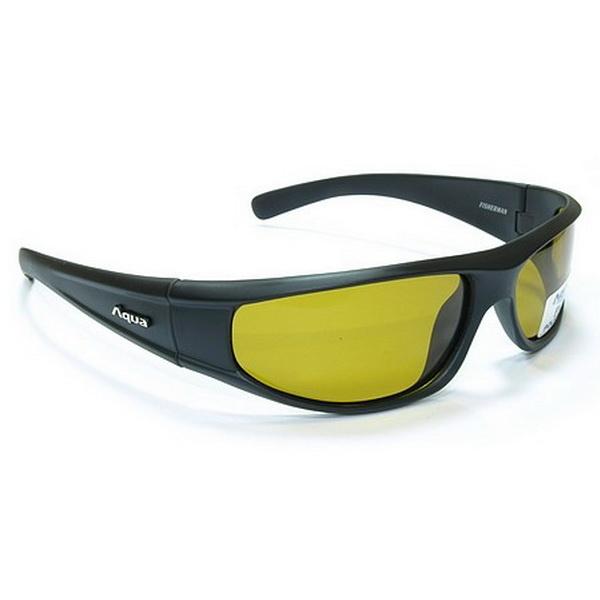 Очки поляризационные Aqua 5PB2500PL00A Fisherman Black жёлтыеОчки<br>Представленные поляризационные очки увеличивают контрастность изображения, которое видит человек.<br>