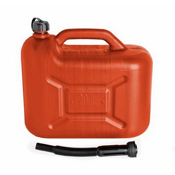 Канистра Техномарин для бензина пластм., 20л AC-120 (56532)Бензобаки и канистры для топлива<br>Пластиковая канистра для ГСМ.<br>