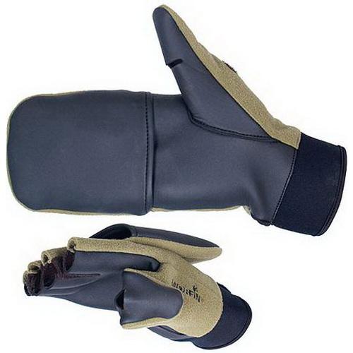 Перчатки Norfin ветрозащ WindstopВарежки/Перчатки<br>Ветрозащитные перчатки для рыболовов, с усиляющими накладками из натуральной кожи.<br>