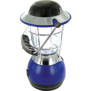 Фонарь Adrenalin Camping Light 14LED (Dynamo)Фонари ручные<br>Светодиодная лампа освещает пространство вокруг себя. В качестве светового элемента используются 14 сверхярких светодиодов и конический рассеиватель, позволяющий значительно увеличить радиус освещения лампы. При свете этой светодиодной лампы легко можно ч...<br>