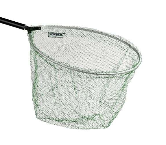 Подсачек SPRO Pannet Green Ghost Oval 40x50смПодсачеки<br>Подсачек Зеленый призрак доступен в овальной и прямоугольной форме. Зеленый призрак сетчатый материал почти невидимый под водой, не впитывает жидкости и запахи.<br>