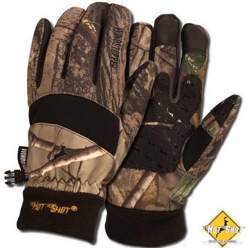 Перчатки NovaTour Falcon L, Realtree AP (68534)Варежки/Перчатки<br>Зимние охотничьи перчатки с подкладкой. Манжеты выполнены из флиса.<br>