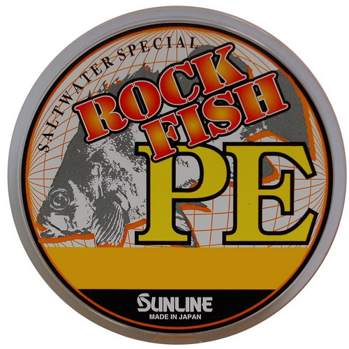 Леска плетеная SunLine Rock Fish PE 120M HGПлетеные шнуры<br>Шнур отличается мягкостью, что позволяет делать дальние забросы.<br>
