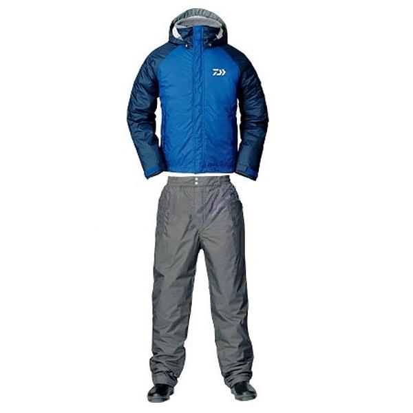 Костюм зимний Daiwa RainMax HI-Loft голубой M (67666)Костюмы/комбинзоны<br>Универсальный костюм для рыбалки и активного отдыха DW-3503 выполнен из современного материала RAINMAX® от фирмы Daiwa . Данный материал обеспечит комфортное пребывание на природе при сильном ветре, дожде или отрицательной температуре за счёт дышащих свой...<br>
