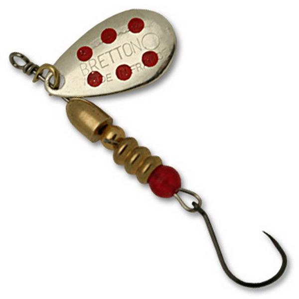 Блесна Fishycat Bretton Nokill - №3 / SRD (76086)Блесны<br>Блесна обладает замечательной игрой при проводках, благодаря наличию лепестка с зеркальным блеском. Наиболее эффективно приманка проявляет себя при ловле щуки и судака.<br>