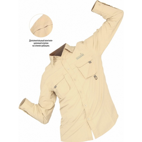 Рубашка Norfin SOLAR SHIRT 03 р.L (40954)