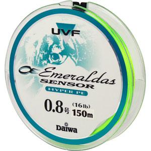 Леска Daiwa UVF Emeraldas Sensor + Si #0.8-150 (19726)Плетеные шнуры<br>Леска Daiwa UVF Emeraldas Sensor + Si изготовлен из материала PE со специальной обработкой при помощи системы UVF (Ulrta Volume Fiber). Обладает более высокой прочностью и износостойкостью, чем обычный плетеный шнур из материала PE (полиэтилена). Имеет сп...<br>