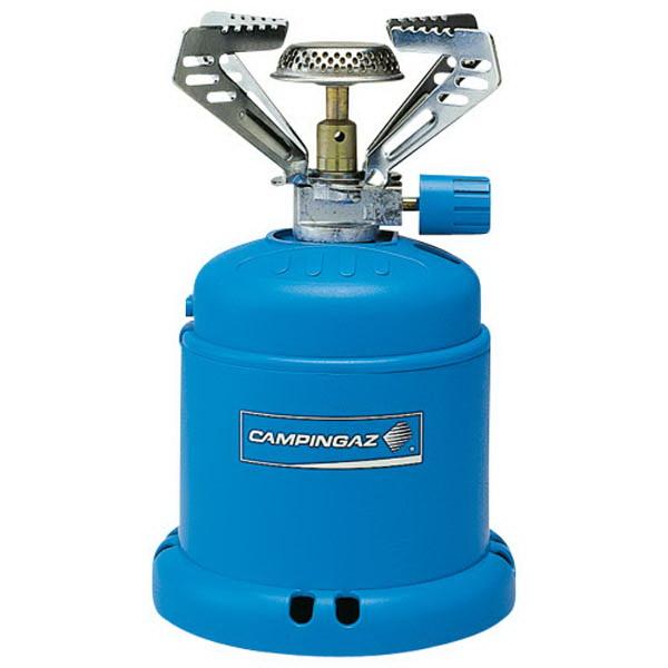 Горелка CampinGaz газовая CG Camping 206 S (мощность 1200Вт,вес 280г,работает на картриджах C206)Горелки<br>Газовая горелка работает от картриджей, характеризуется высокой устойчивостью от порывов ветра, можно уверенно использовать горелку в ветреную погоду.<br>