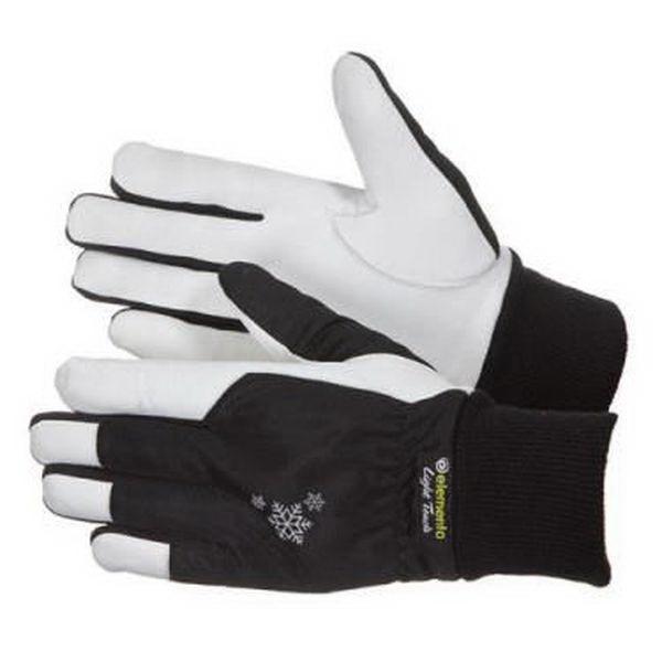 Перчатки Elementa Chill Factor Light Touch утепленные, черный, р. 9Варежки/Перчатки<br>Качественные кожаные перчатки предназначены для защиты рук при строительных, плотницких, транспортных, бытовых и промышленных работах в холодное время года. Изготовлены из натуральной кожи и имеют утепленную подкладку внутри.<br>