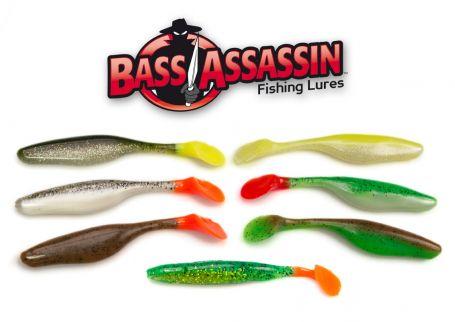 Мягкая приманка Bass Assassin Sea Shad 4