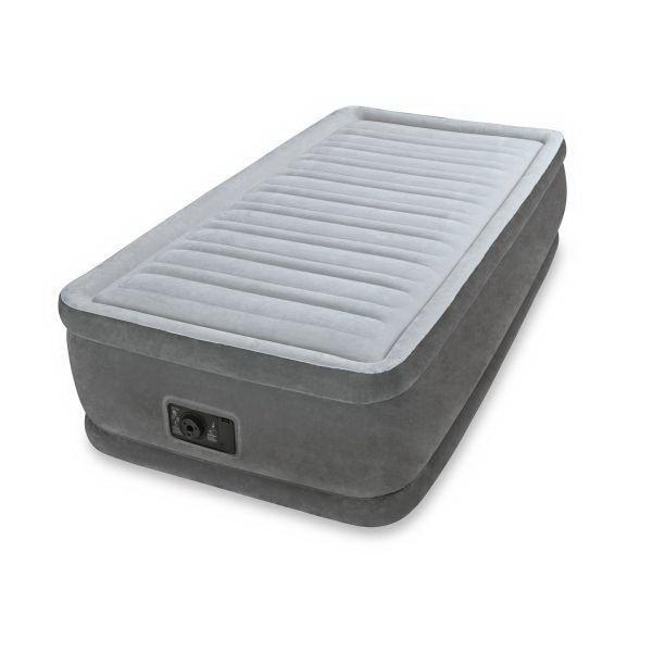 Кровать Intex Comfort-Plush Elevated 99х191х46см с встрн.насосом 220в