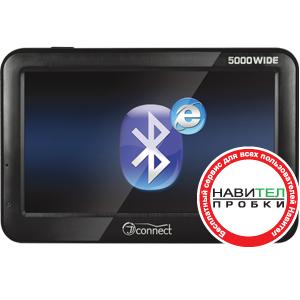 Автонавигатор JJ-Connect AutoNavigator 5000 WIDEGPS навигаторы<br>Автомобильный навигатор с расширенной функциональностью и экраном увеличенной диагонали 5 дюймов. Прибор может выходить Internet c помощью подключения по каналу Bluetooth к мобильному телефону, поддерживающим службу удаленного доступа к сети DUN (Dial-Up ...<br>