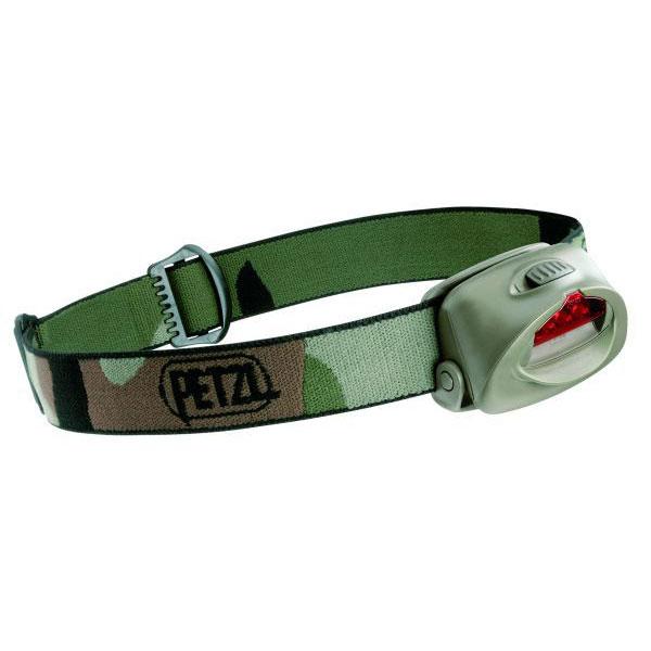 Фонарь налобный Petzl ТАКТИКА камуфляж E46PС2Фонари налобные<br>Трехдиодный налобный фонарь с одним режимом освещения и красным светофильтром.<br>