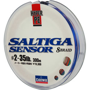 Леска Daiwa Saltiga Sensor #2-35Lb (28800)Плетеные шнуры<br><br>