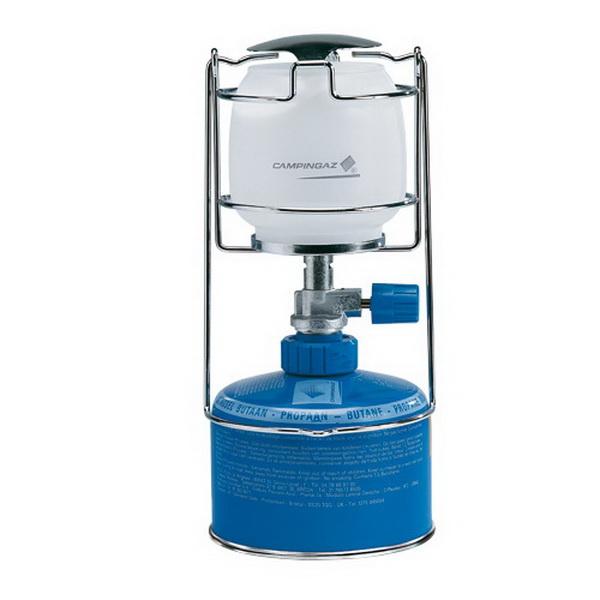 Лампа CampinGaz газовая CG Lumostar Plus (мощн 80W, вес 210г, топливо газовый картридж CV270 plus, CV300 plus, CV470 plus)Лампы кемпинговые<br>Газовая лампа со съемной крышкой для дополнительного удобства. Имеет клапанное соединения с баллонами.<br>