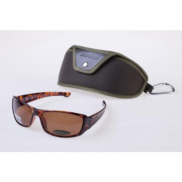 Очки Solano солнцезащитные, модель FL20014EОчки<br>Данные солнцезащитные очки оснащены поляризационными фильтрами, которые позволяют проходить необходимым лучам, и устраняют все блики и отблески. Также линзы представленных очков задерживают вредные для глаз ультрафиолетовые лучи с длиной волны до 400 нм.<br>