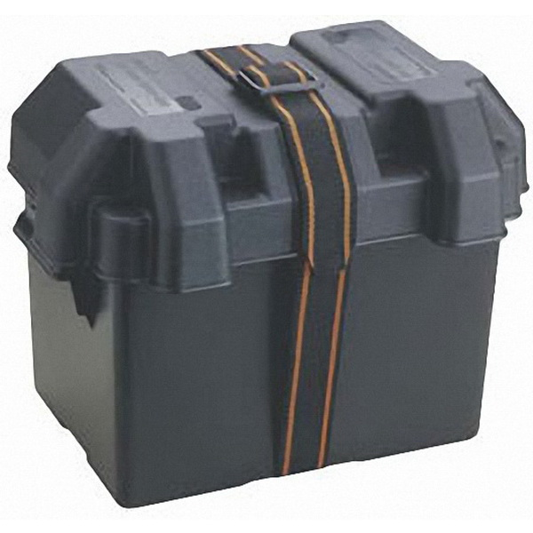 Бокс Attwood для аккумулятора «Standard» (9065-1)Аккумуляторы<br>Вентилируемый бокс для аккумулятора из полипропилена<br>