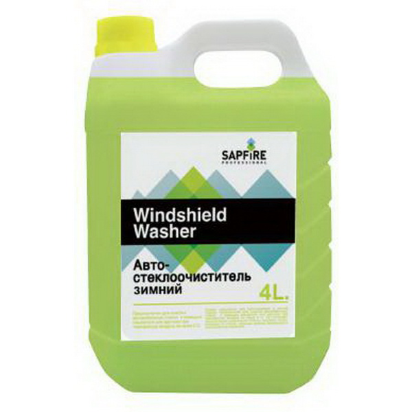 Автостеклоочиститель Sapfire зимний -20С 4лМасла и ГСМ<br>Автостеклоочиститель не только эффективно смывает различные загрязнения, но и борется с обледенением стекла, не оставляет разводов и грязных пятен. Выдерживая низкие зимние температуры, не позволит выйти из строя омывателю стекла.<br>