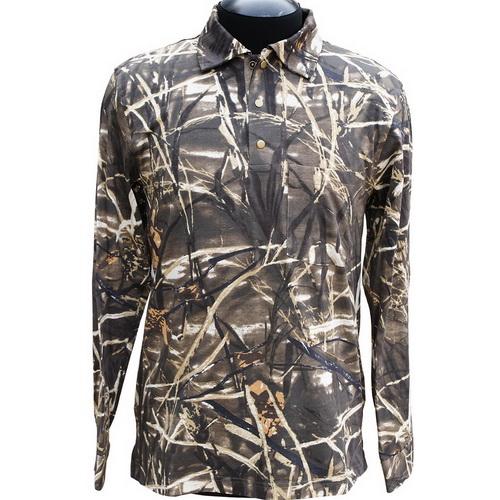 Рубашка ХСН мужская с длинным рукавом (камыш) (54/182-188) (63133)Рубашки<br>Хлопковая рубашка, подходит как для ношения на рыбалке или охоте, так и в городе.<br>