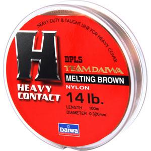 Леска Team Daiwa Line Heavy Contact 14Lb (22954)Монофильные лески<br>Оптимальный баланс низкой растяжимости и высокой чувствительности<br>