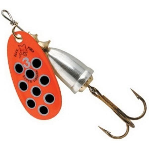 Блесна Blue Fox Vibrax Hot Pepper №2 / RBS (63672)Блесны<br>Вращающаяся блесна, с бликующим полированным колокольчиком. Рекомендуется для ловли лососевых рыб.<br>