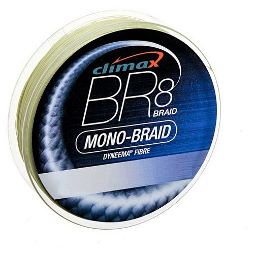 Леска Climax BR8 Mono-Braid (green) 135мПлетеные шнуры<br>Плетеная леска высокого качества, имеет достаточную прочность на узлах, и при растяжении.<br>