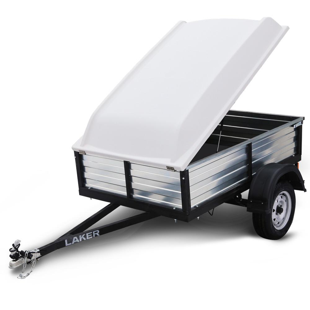 Автоприцеп LAKER Heavy Duty Light 300 с крышкойБортовые прицепы<br>Прицепы Laker это новая линейка, включающая в себя как лодочные, так и платформенные прицепы. Особенности Платформенных прицепов Laker: Вся линейка прицепов, включая самые маленькие размеры, имеет ширину больше стандартной на 30 см, что позволяет комфортн...<br>