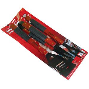 Набор инструментов для гриля с антипригарным покрытием Adrenalin Grill SetНаборы для пикника<br>В комплект входит: лопатка, вилка, щипцы.<br>