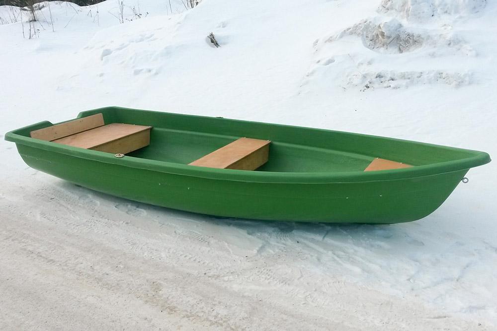 лодки в новосибирске пластиковые