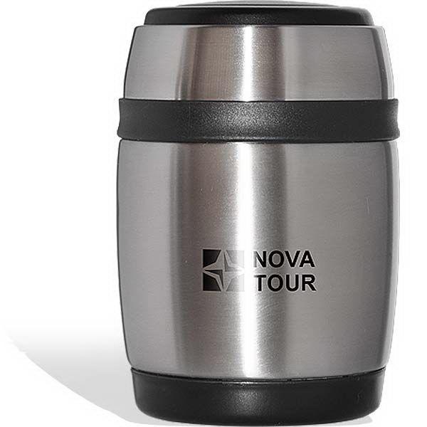 Термос NovaTour Ланч 480Термосы<br>Практичный и компактный термос NOVA TOUR Ланч 480предназначен для хранения напитков, первых и вторых блюд. Регулируемый плечевой ремешок и удобная пластиковая ручка для переноски сделают этот термос вашим незаменимым помощником.<br>