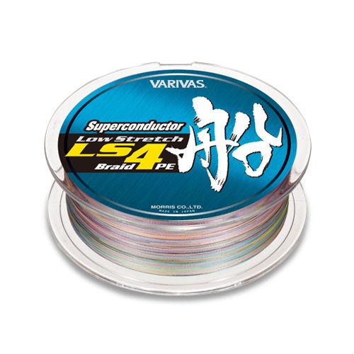 Леска плетеная Varivas Superconductor Fune PE LS4 150m #1.5 (97823)Плетеные шнуры<br>Леска плетеная Varivas Superconductor Fune PE LS4 - это новинка от известного японского производителя Varivas. При их изготовлении используются прочнейшие волокна LS4 PE(Low Stretch), что гарантирует этим четырехнитевым шнурам растяжение на 30% меньшее, ч...<br>