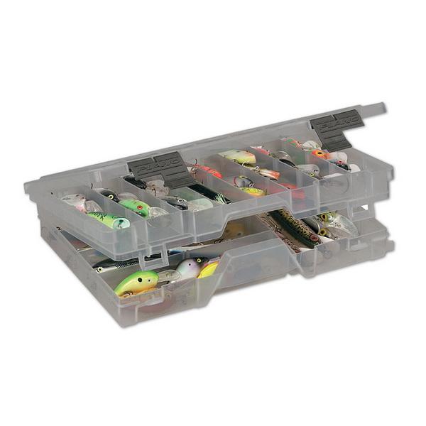 Коробка Plano 4700-00Коробки<br>Коробка для рыболовных принадлежностей, выполнена из ударопрочного пластика, с надежными запорами.<br>