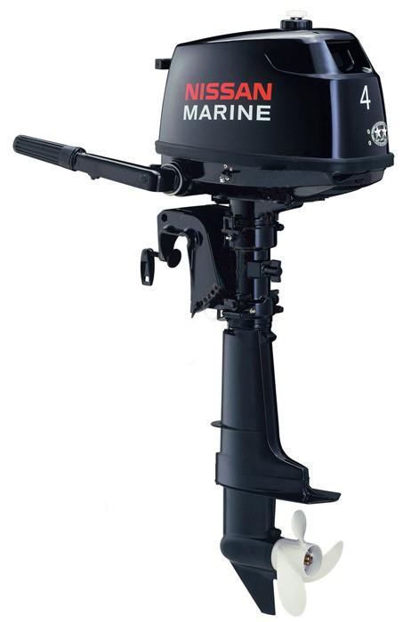 Лодочный мотор 4-х тактный Nissan Marine NSF 4 CD 1