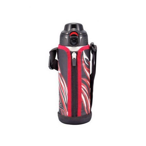 Термос Tiger с чехлом MBP-A050 K 0,5 литра /черныйТермосы<br>Стальной термос, который подходит для применения на отдыхе, в дороге или на работе. Можно применять термос в качестве термокружки.<br>