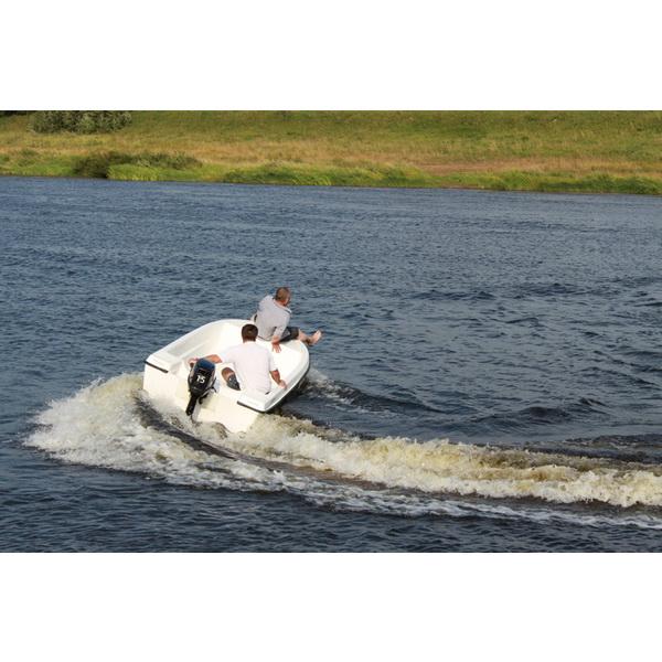 Лодка Laker Т360 Plus (60158)Стеклоплаcтиковые лодки<br>Новинка - моторно-гребная стеклопластиковая лодка Laker 360 Plus!<br>