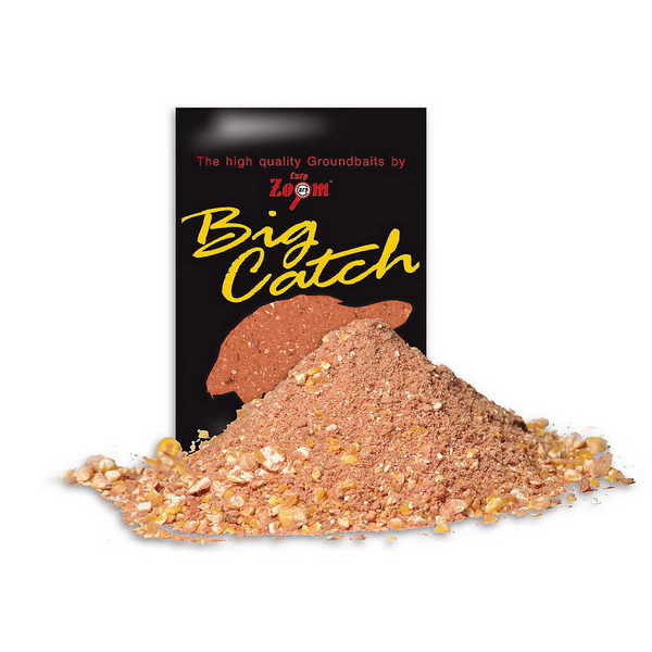 Прикормка Carp Zoom Big Catch Groundbaits сладкий 1кг ( кукуруза, тигровый орех )Прикормки<br>Смесь для прикормки рыбы, используемая для донной ловли. При попадании в воду прикормка создает облако аромата и вкуса, которое очень нравится рыбе, особенно крупным особям.<br>