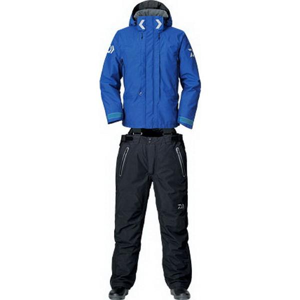 Костюм Daiwa Gore-Tex Product Combi-Up Hi-Loft Winter Suit (Синий) L DW1303 (71485)Костюмы/комбинезоны<br>Костюм изготовлен для холодной зимней погоды. В основе лежит флисовый материал, обладающий влагоотводящим свойством и прекрасно сохраняющим тепло внутри.<br>