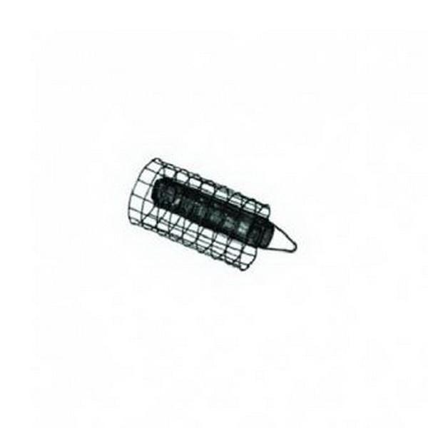 Кормушка Salmo стал. Круглая сетч.Фидерная и карповая оснастка<br>Круглая кормушка из стальной сетки. Подходят для применения в стоячей воде. Имеет дополнительный вставленный груз. Благодаря используемому материалу кормушка хорошо вымывается водой. Не оставляя внутри прикормку. Фирма – производитель славится высочайшим ...<br>